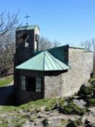 Die Kapelle auf der Milseburg