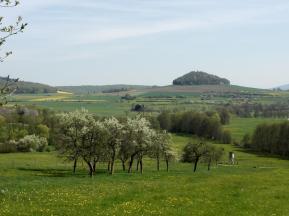 Blick zum Gehilfersberg