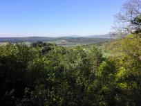 Blicke über die Rhön Landschaft