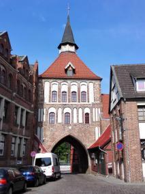 Gut erhaltenes Stadttor