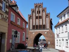 Das Wassertor, letztes erhaltenes Stadttor