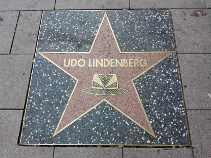 Ein Stern für Udo Lindenberg auf der Reeperbahn