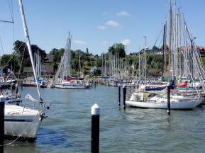 Yachten im Hafen