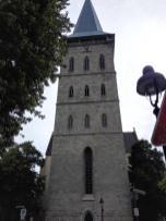 Blick auf den Turm von St. Katharinen
