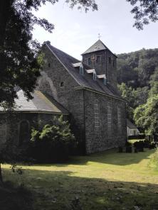 Die alte Kirche von Burg
