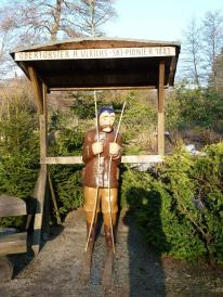 Denkmal für den Oberförster Ulrichs (Foto: Kassandro   http://commons.wikimedia.org   Lizenz: CC BY-SA 3.0 DE)