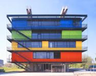 Gebäude des Schülerlabors XLAB auf dem Nordcampus der Universität (Foto: m.ferber | http://commons.wikimedia.org | Lizenz: CC BY-SA 3.0 DE)