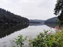 Wie erreichen den Blaibacher Stausee