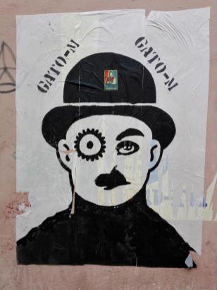 Plakat in der Altstadt