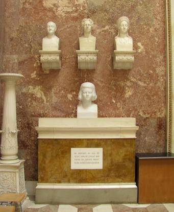 Auch Sophie Scholl ist hier vertreten (Foto: Michael J. Zirbes | http://commons.wikimedia.org | Lizenz: CC BY-SA 3.0 DE)