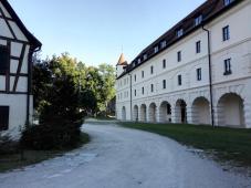 Renaissance-Bauten in der Anlage