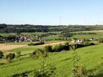 Aufstieg zur Wülzburg