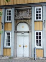 Portal der Tourist-Info in Zellerfeld