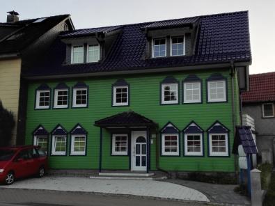 Holzhaus in Zellefeld