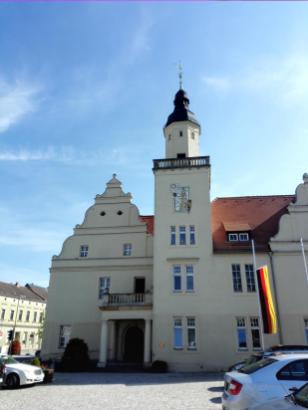 Das Rathaus von Coswig