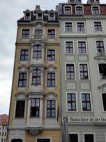 Vielleicht eines der schmalsten Barockhäuser in Dresden