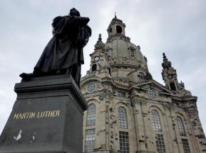Martin Luther-Denkmal an der Frauenkirche