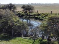 Kanal zur Bewässerung der Wiesen