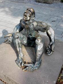 Skulptur an der Marktkirche