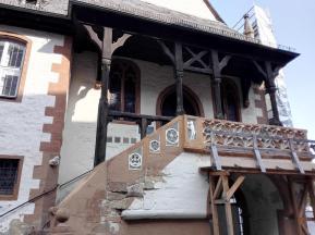 Seitentreppe des Alten Rathauses