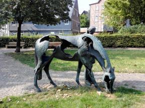 """Skulptur """"Moritz von Sachsen"""""""
