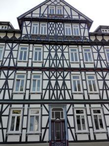Vielgeschossiges Fachwerkhaus am Frankenberg