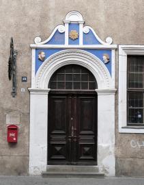 Portal an einem Haus in der Rannischen Straße (Foto: Catatine | http://commons.wikimedia.org | Lizenz: CC BY-SA 3.0 DE)