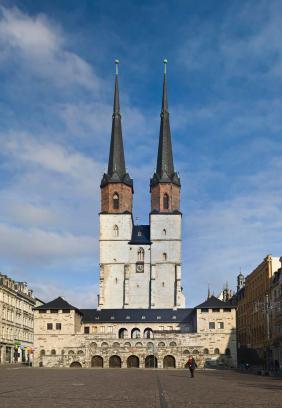 Marienkirche von Westen aus gesehen. (Foto: Omit234 | http://commons.wikimedia.org | Lizenz: CC BY-SA 3.0 DE)