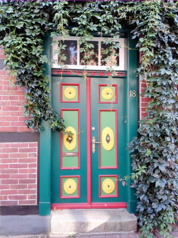 Schönes Portal in der Altstadt