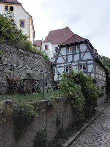 Fachwerkhäuser am Schlossberg