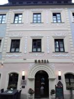Ehemaliges Bürgerhaus am Marktplatz, heute Hotel