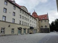 Innenhof von Schloss Pirna