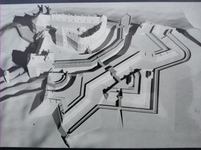 Grundriss von Schloss Pirna