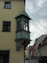 Erker an einem Haus in der Altstadt