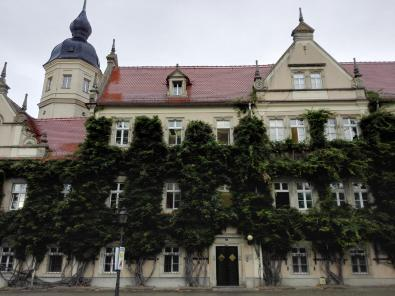 Das Rathaus von Riesa
