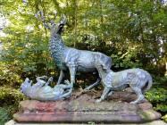 Jagddenkmal, das Otto von Bismarck gewidmet ist