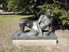 Skulptur im Stadtpark