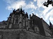 Rückseite des Schosses mit der Schlosskirche