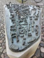 Abbild des mittelalterlichen Wittenbergs