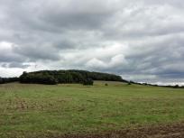 Ausläufer des Westerwaldes