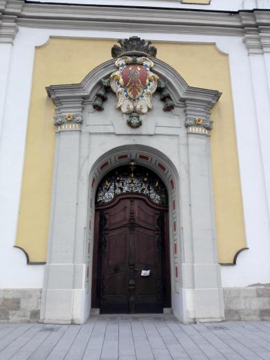 Portal der Stadtkirche