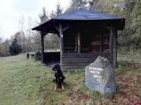 Am Aussichtspunkt Hermannhütte