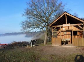 Schutzhütte auf der Rabenlay