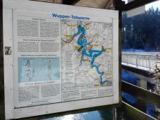 Entlang der Wuppertalsperre bei Hückeswagen