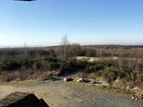 Blick vom Römerturm nach Südwesten in Richtung Aachen