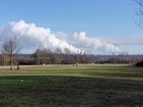 Der Golfplatz Erftaue am Rande von Kaster