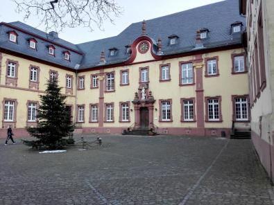 Innenhof des Klosters
