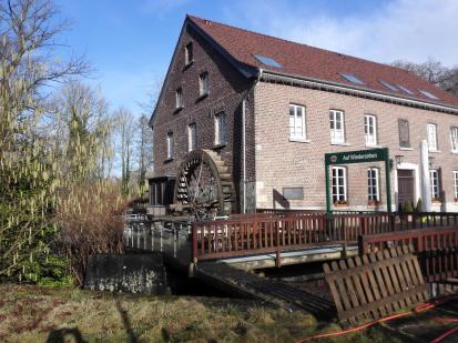 Die Lüttelforster Mühle an der Schwalm