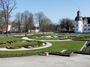 Der Barockgarten des Schlosses