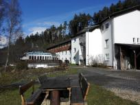 Das Seminarhaus von Yoga Vidya im Grenzbachtal